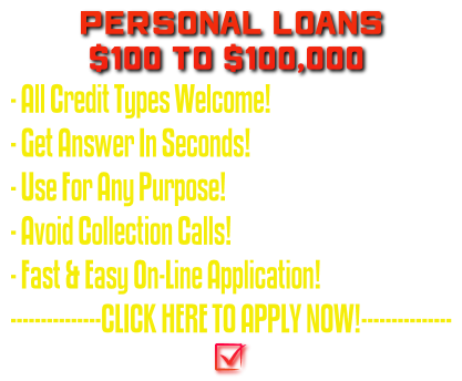 Unsecured Personal Loans for People with Bad Credit, Fair Credit, Adverse, Poor Or Any Credit